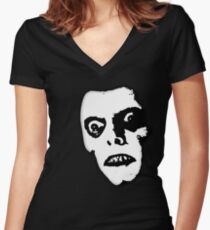 Pazuzu Women's Fitted V-Neck T-Shirt