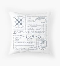 Aubreyad Typography Throw Pillow
