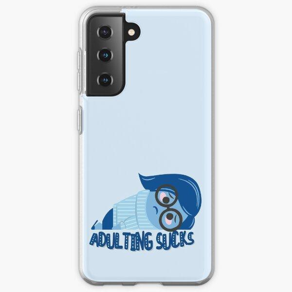 Adulting sucks Samsung Galaxy Soft Case