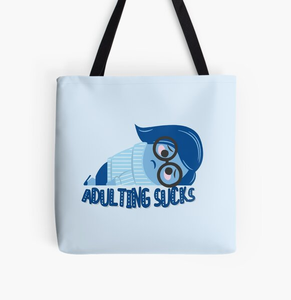 Adulting sucks All Over Print Tote Bag