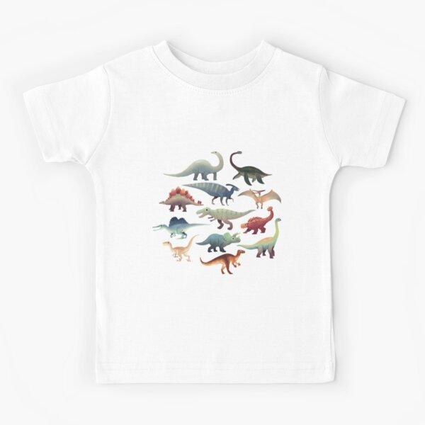 Cute dinosaurs Kids T-Shirt