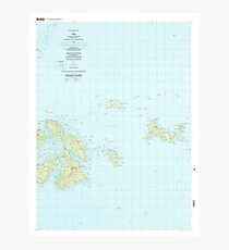 USGS TOPO Map Federated States of Micronesia FM Tol 463203 1997 25000 Photographic Print