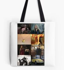 Young Swanfire Tote Bag
