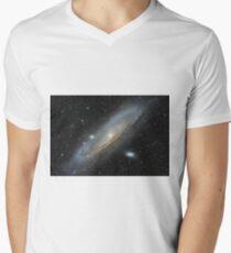 The Andromeda Galaxy Mens V-Neck T-Shirt
