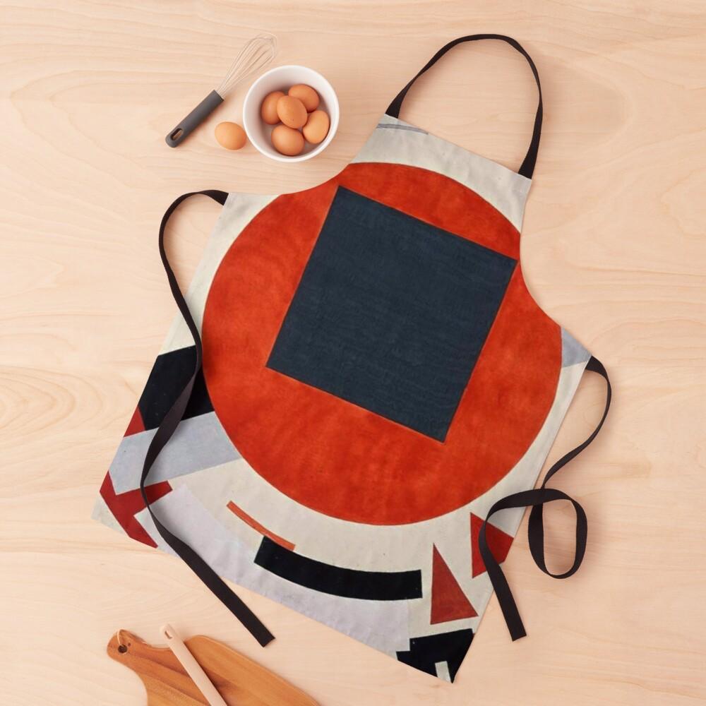 Lissitzky's Proun, ur,apron_realistic_flatlay,square,1000x1000