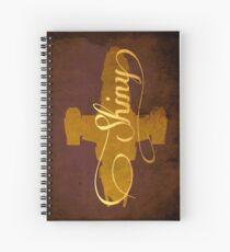 Shiny Serenity Firefly Art Spiral Notebook
