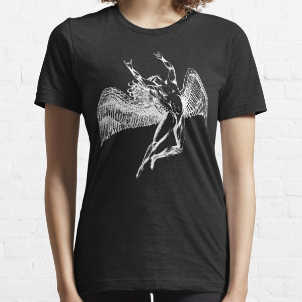 ICARUS THROWS THE HORNS - white ***FAV ICARUS GONE? SEE BELOW*** Essential T-Shirt