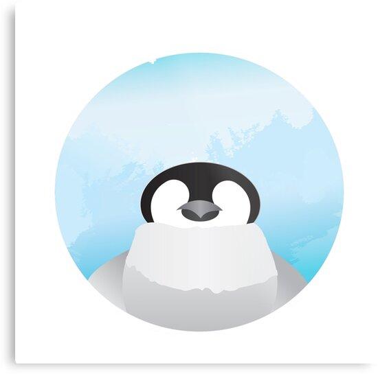 Simplistic Penguin by CaraPrada