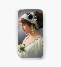 Colorized Vintage Young Beauty III Samsung Galaxy Case/Skin