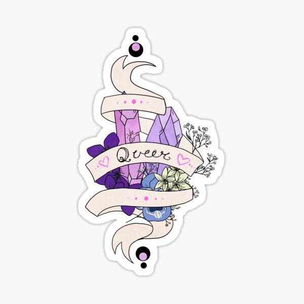 The Queer-er-est  Sticker