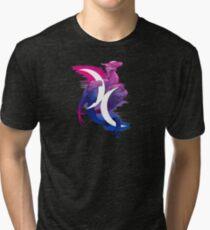 Bi-Stolz-Drache Vintage T-Shirt