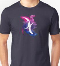 Bi-Stolz-Drache Slim Fit T-Shirt