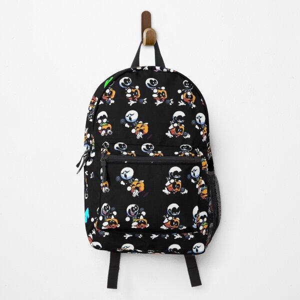 Skid & Pump Friday Night Funkin Black Backpack