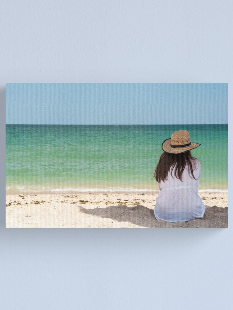 Alternate view of The last day of summer Canvas Print
