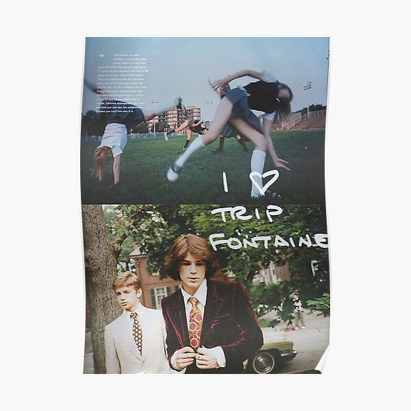 The Virign Suicides - Trip Fontaine Poster Poster