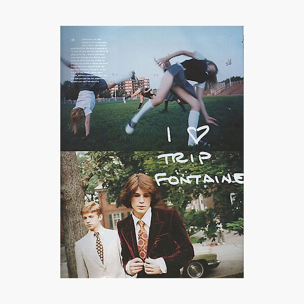 The Virign Suicides - Trip Fontaine Poster Photographic Print