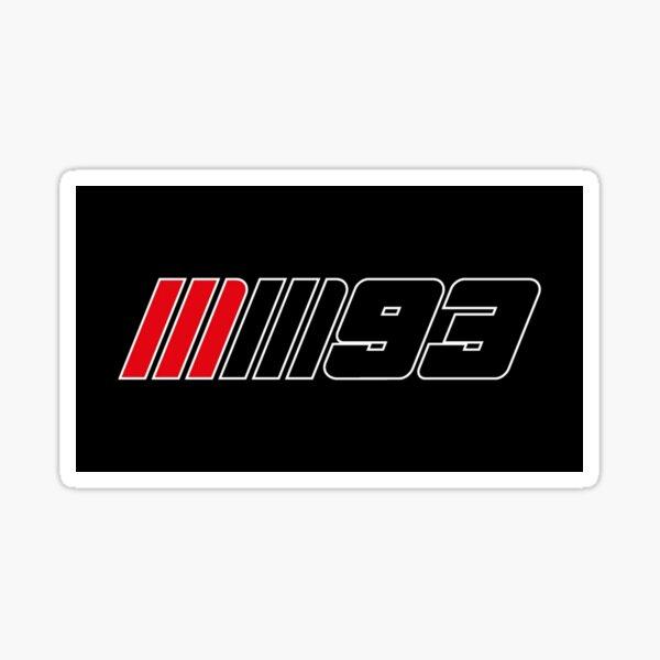 Marc Marquez # 727 Sticker
