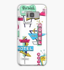 Motel signs Samsung Galaxy Case/Skin