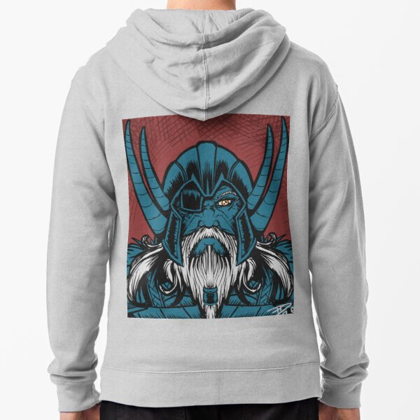 Odin the All Father Zipped Hoodie