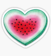 Summer Love - Watermelon Heart Sticker