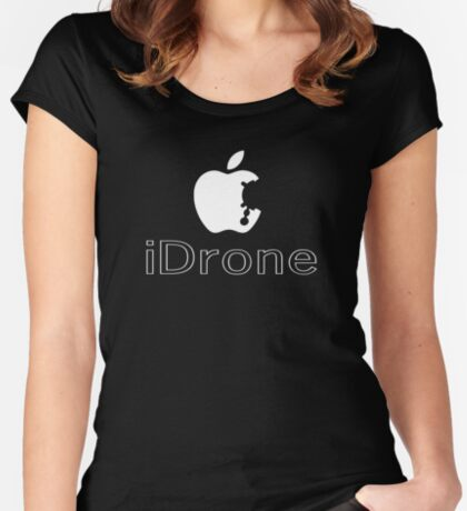 The iDrone Women's Fitted Scoop T-Shirt