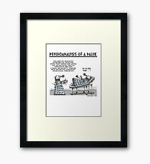 PSYCHOANALYSIS OF A DALEK Framed Print