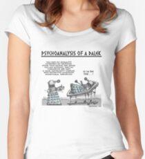 PSYCHOANALYSIS OF A DALEK Women's Fitted Scoop T-Shirt