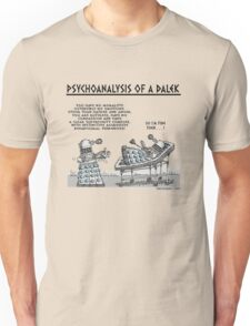 PSYCHOANALYSIS OF A DALEK Unisex T-Shirt