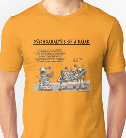 PSYCHOANALYSIS OF A DALEK T-Shirt