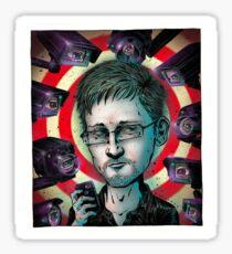 #Snowden Sticker