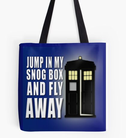 Snog Box Tote Bag