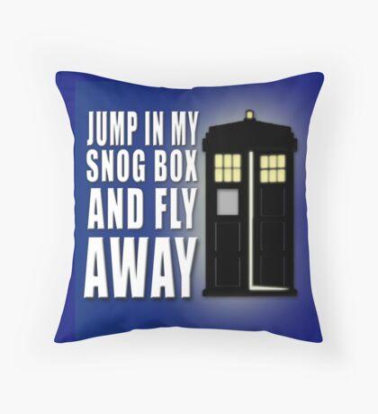 Snog Box Throw Pillow