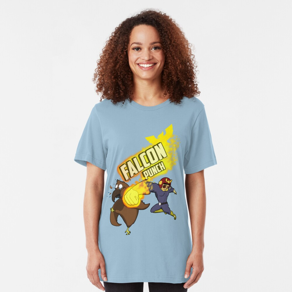 FALCON PUNCH! Slim Fit T-Shirt