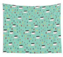 Countryside Pattern Wall Tapestry