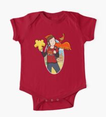 Ellie & Kazooie going on an Adventure. One Piece - Short Sleeve
