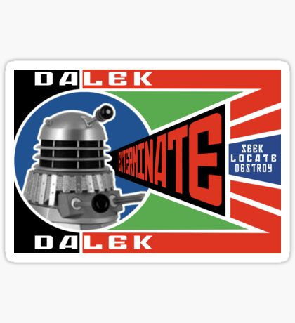 Dalek Deconstructivism Sticker