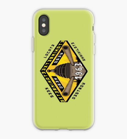Battleship Dalek 1963 iPhone Case