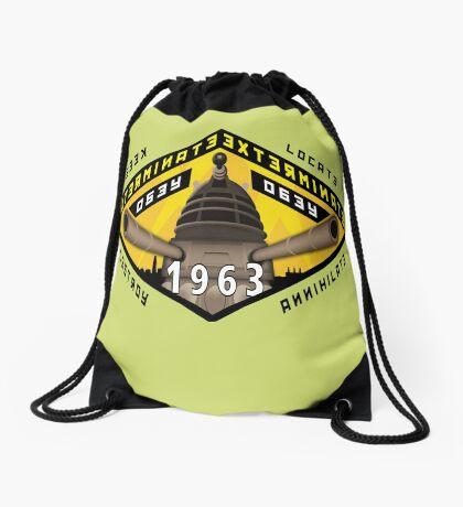 Battleship Dalek 1963 Drawstring Bag