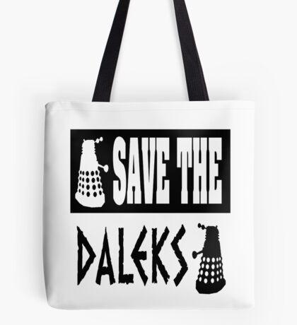 Save the Daleks Tote Bag