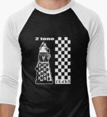 Two Tone Dalek Men's Baseball ¾ T-Shirt