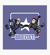 Bro's 4 life - Mass Effect Photographic Print