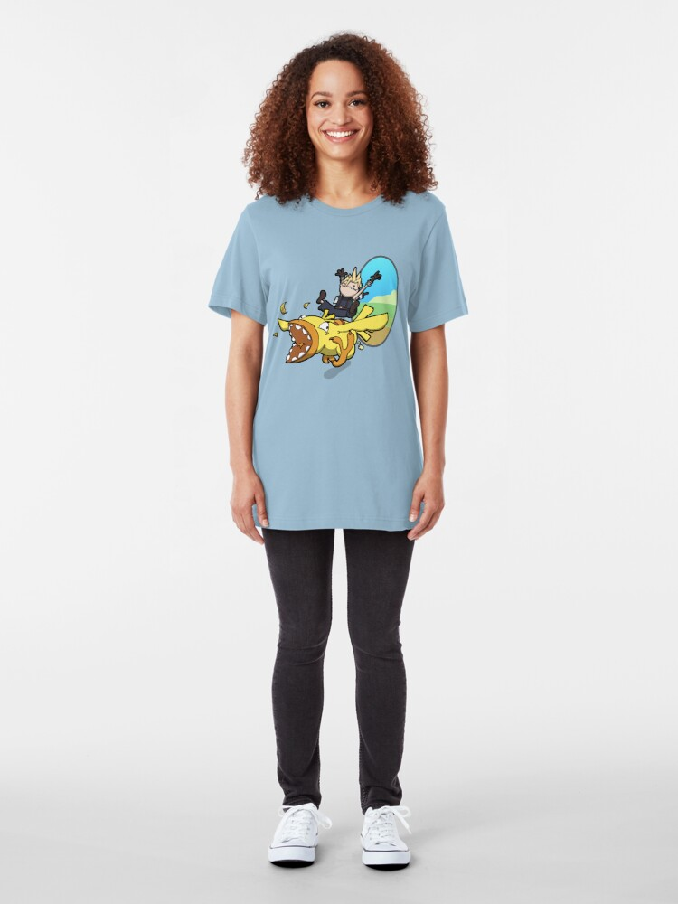 Alternate view of A magnificent creature Slim Fit T-Shirt