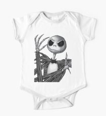 Jack Skellington One Piece - Short Sleeve