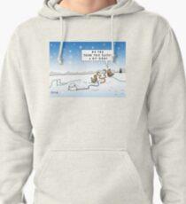 An Ood in Winter Pullover Hoodie