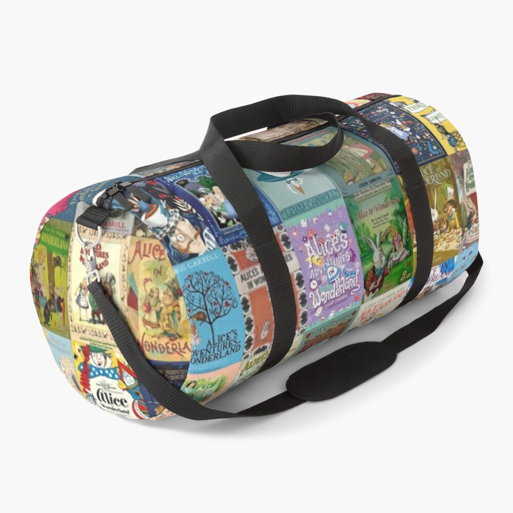 Alice in Wonderland Duffle Bag