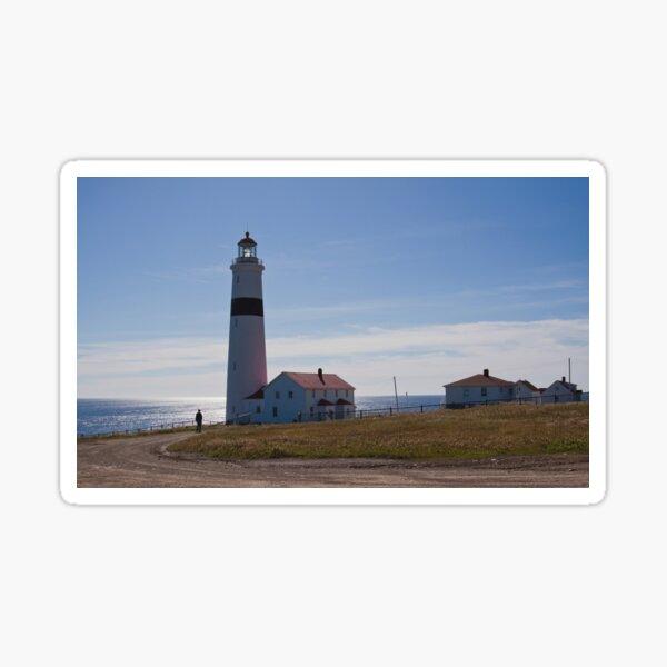 Point Amour Lighthouse Labrador, Canada Sticker