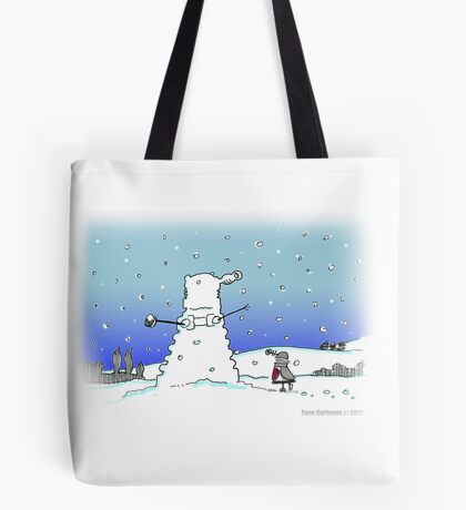 Snow Globes Tote Bag