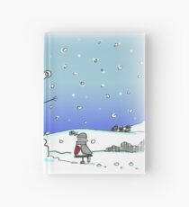 Snow Globes Hardcover Journal
