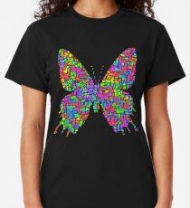 Artificial neural style Simplex pixel Papilio Gloria butterfly Classic T-Shirt