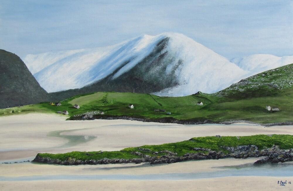 Luskentyre Dawn by Richard Paul